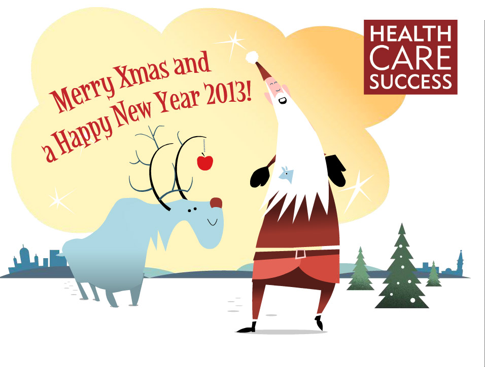 Flash Christmas card for Health Care Success